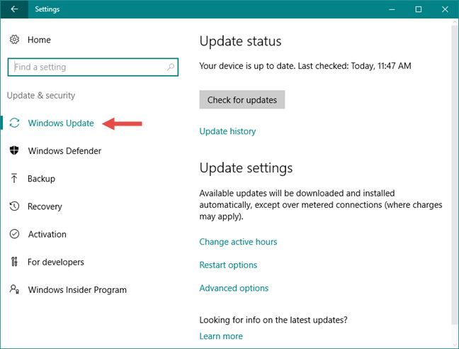 stop all windows 10 home updates